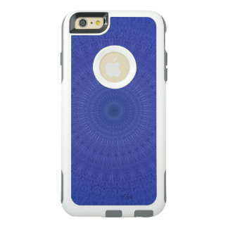 Abstract blue pattern OtterBox iPhone 6/6s plus case