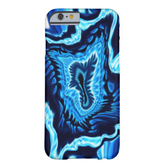 Abstract Blue Patterned Case Barely There iPhone 6 Case