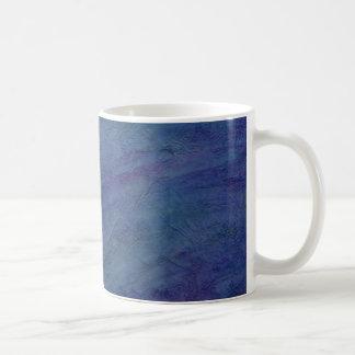 Abstract Blue Rain Faeries Basic White Mug