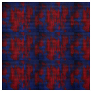 Abstract Blue/Red Fabric