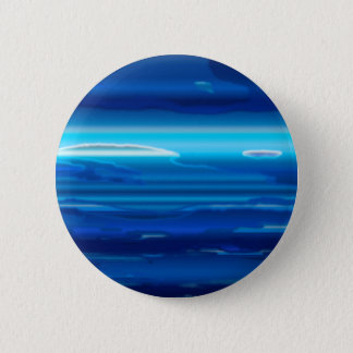 Abstract Blue Sky 2 Inch Round Button