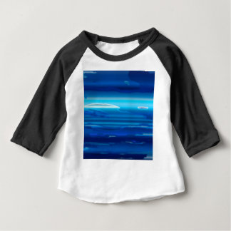 Abstract Blue Sky Baby T-Shirt
