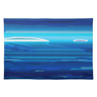 Abstract Blue Sky Placemat