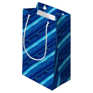 Abstract Blue Sky Small Gift Bag