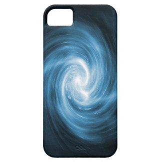 Abstract Blue Swirl iPhone 5 Case