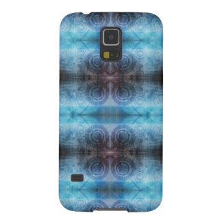 Abstract Blue Texture Galaxy S5 Cover