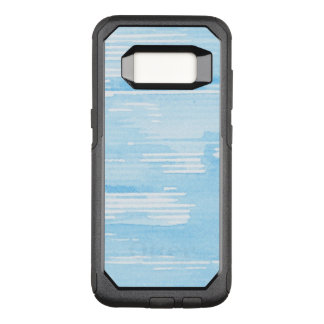 Abstract blue watercolor background, texture. 2 OtterBox commuter samsung galaxy s8 case