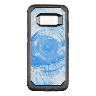 Abstract blue watercolor background, texture. OtterBox commuter samsung galaxy s8 case