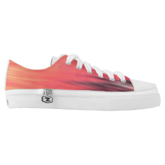 Abstract blurred pattern . Low-Top sneakers