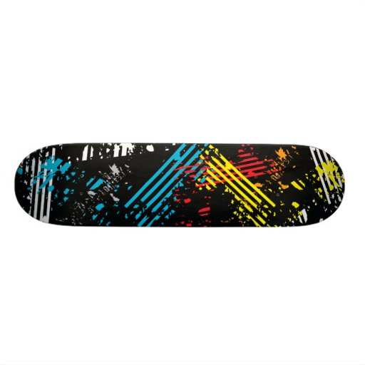 Abstract Board #11 Skate Board Deck