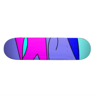 Abstract Board Skate Decks