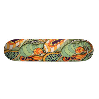 Abstract Board Skateboard