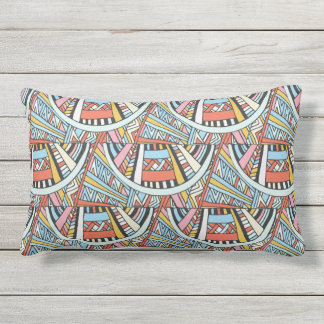 Abstract Boho Pattern throw pillows