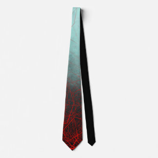 Abstract Boxes Underwater - Neck Tie