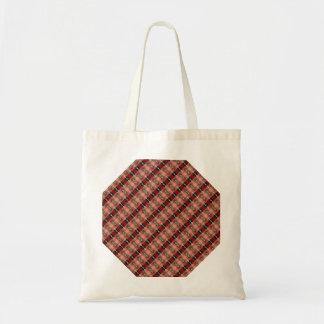 Abstract Brown Geometric Art Pattern Bag
