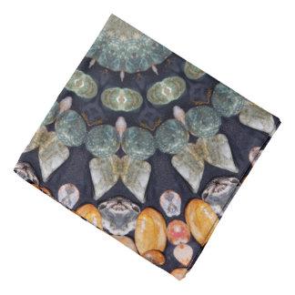 Abstract Brown Kaleidoscope Bandana