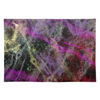 Abstract Brush Strokes Design Placemat