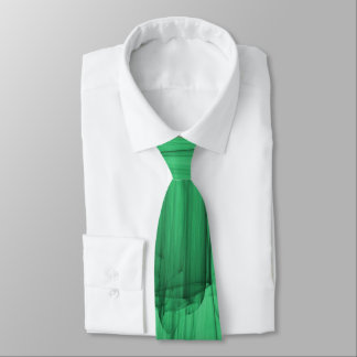 Abstract Brush-strokes in Green Tie