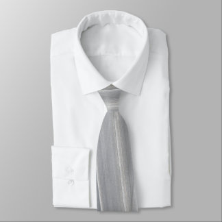 Abstract Brush-strokes in Light Grey Tie