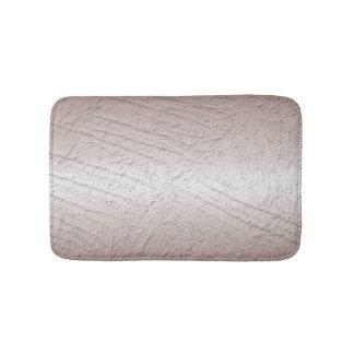 Abstract brushed metallic texture bath mat