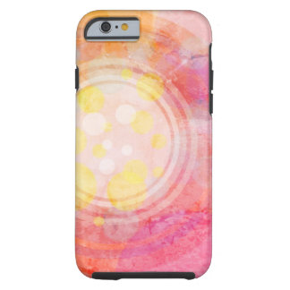 Abstract bubble design iPhone case