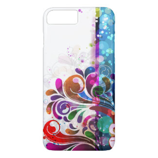Abstract Bubbles and Swirls iPhone 8 Plus/7 Plus Case