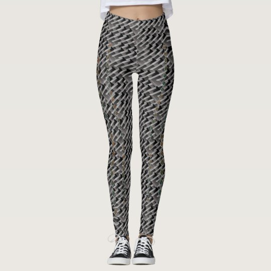 abstract bubbles leggings