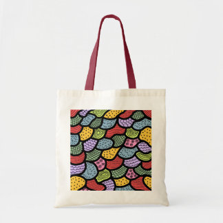 abstract budget tote bag