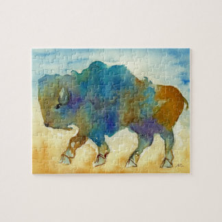 Abstract Buffalo Puzzle