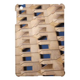 Abstract building case for the iPad mini