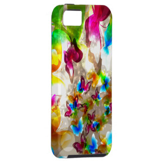 Abstract Butterflies Case For The iPhone 5