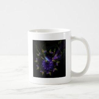 Abstract butterflies in a swirl mug