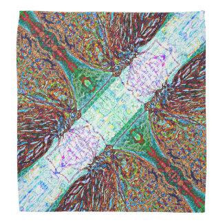 Abstract Butterflies Mandala Pattern Do-rags