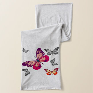 Abstract Butterflies Scarf