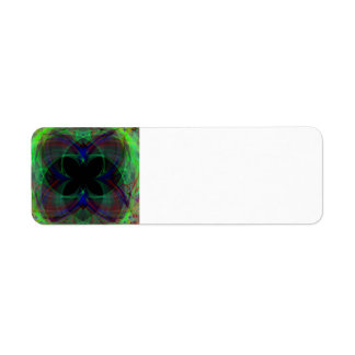 Abstract Butterfly 2 Custom Return Address Labels