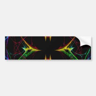 Abstract Butterfly 3 Bumper Sticker