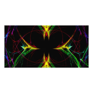 Abstract Butterfly 3 Photo Greeting Card