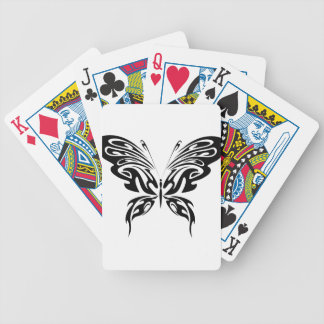 Abstract Butterfly Bicycle Playing Cards