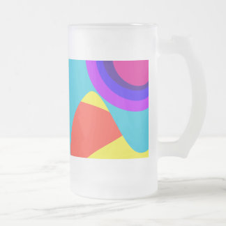 Abstract Butterfly Blue Coffee Mugs