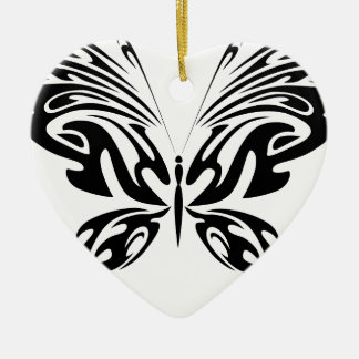 Abstract Butterfly Ceramic Ornament