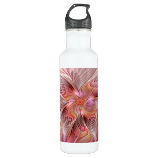 Abstract Butterfly Colorful Fantasy Fractal Art 710 Ml Water Bottle
