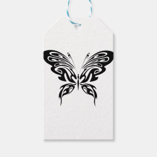 Abstract Butterfly Gift Tags