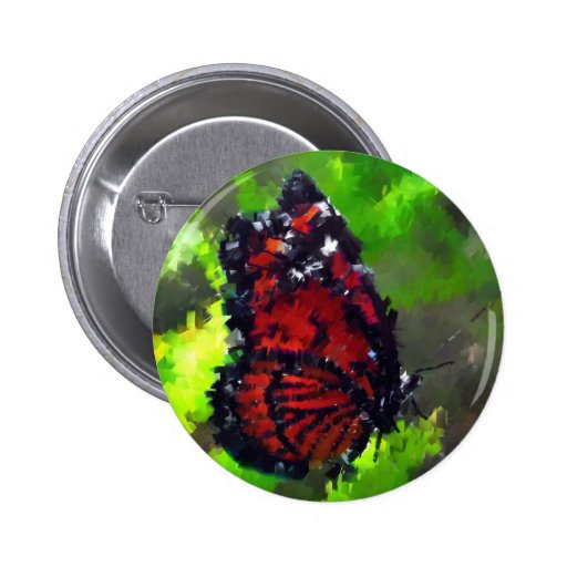abstract butterfly insect flowers wildlife buttons
