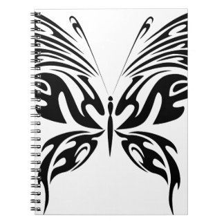 Abstract Butterfly Notebook