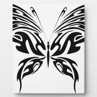 Abstract Butterfly Plaque