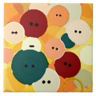Abstract Button Design Tile