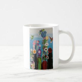 Abstract Cactus Mug