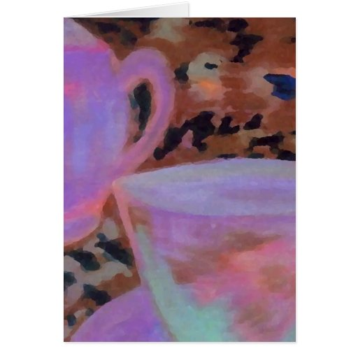 Abstract Cafe CricketDiane Coffee Art Cards