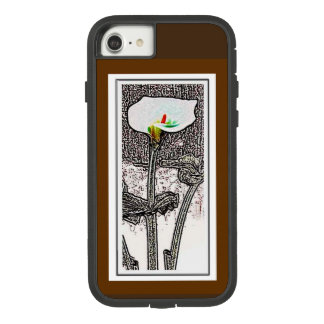Abstract Calla Lily Case-Mate Tough Extreme iPhone 8/7 Case