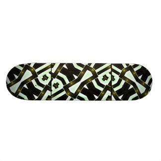 Abstract Camouflage Skateboard